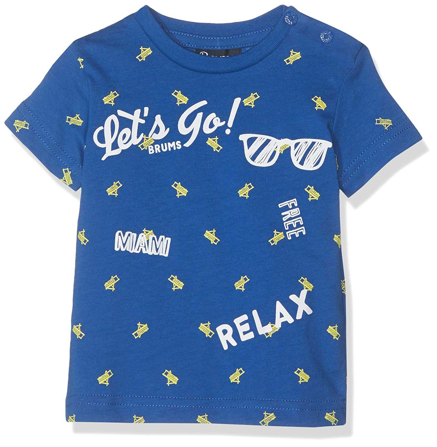 Brums Baby Boys T-Shirt Jersey Con Stampa Kniited Tank Top
