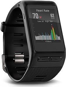 Garmin vívoactive HR GPS Smart Watch, X-large fit - Black
