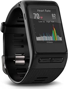 Garmin Vivoactive HR GPS Fitness Smart Watch (Black)