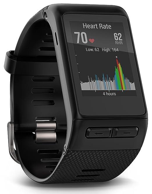 115 opinioni per Garmin Vivoactive HR Extra Large Smartwatch con Cardio al Polso, Profili