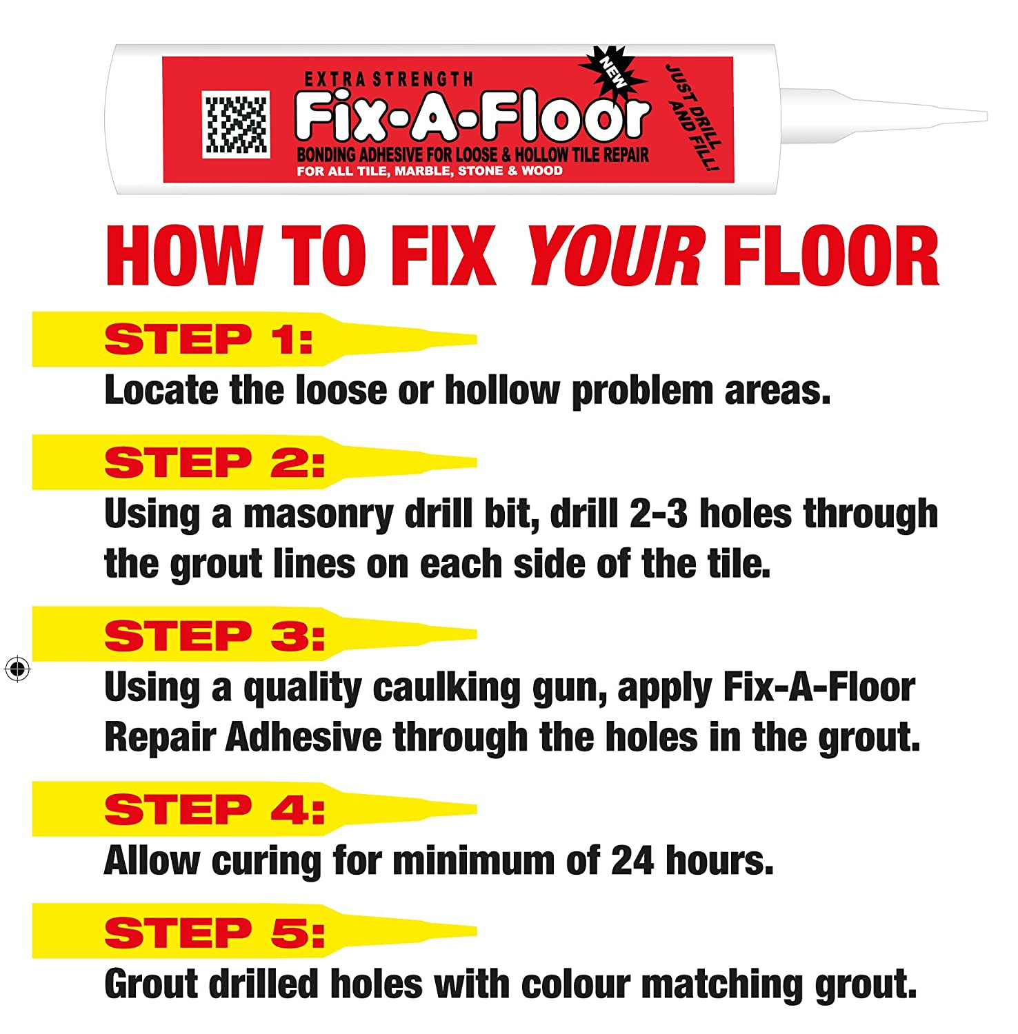 Amazon Fix A Floor Extra Strength Bonding Adhesive For Loose