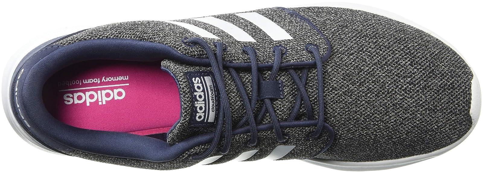 adidas Women's Cf Qt Racer Running Shoe BB9846 Navy - 8