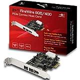 Vantec UGT-FW210 2Plus1 Firewire 800/400 PCie Combo Host Card