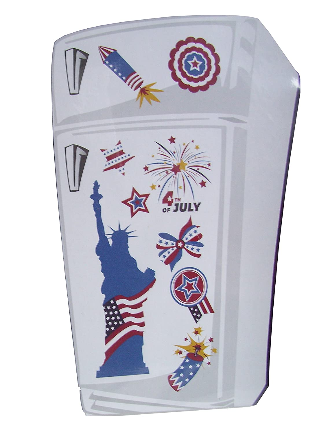 Patriotic Kitchen Magnets (Fireworks - 4th of July)