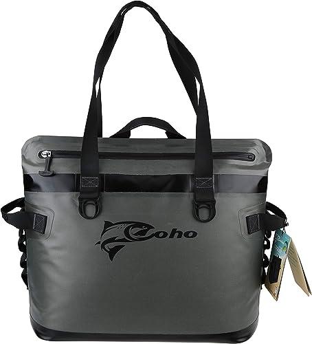 30 Cans Soft Cooler Bag,20L Leak-Proof Soft Side Cooler Bag Waterproof Insulated Soft Sided Cooler for Hiking, Camping, Sports, Picnics, Sea Fishing, Road Beach Trip