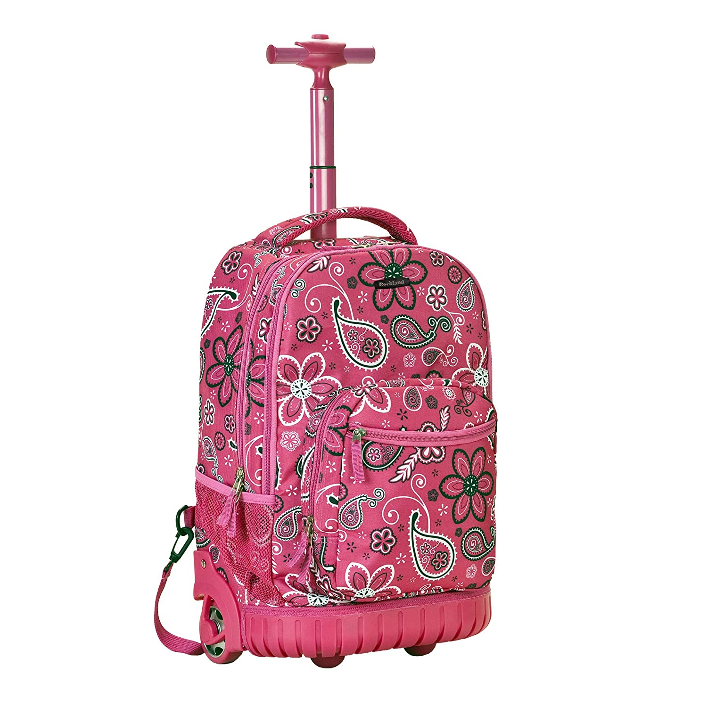 新着商品 [ロックランド]Rockland Backpack Size Luggage 19 Inch Rolling Rolling Backpack Printed, Bandana, Medium R02-BANDANA [並行輸入品] One Size Bandana B005N27S96, イナザワシ:4c4bf2a4 --- arianechie.dominiotemporario.com