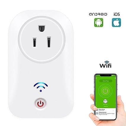 smart plug,smart plug compatible with alexa no hub,smart home power