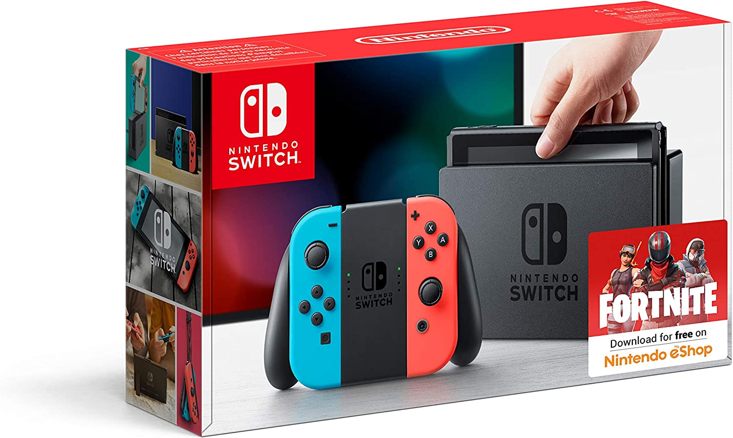 Nintendo Switch - Neon Red/Neon Blue [Importación Inglesa]: Amazon.es: Videojuegos