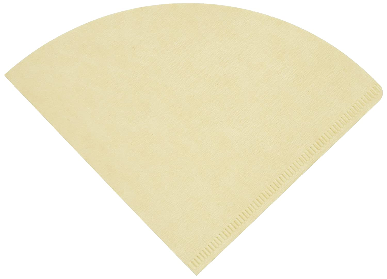 un total de 300/hojas importado de Jap/ón 3-Pack de caf/é Hario 02/100-Count Juego de filtros de papel natural