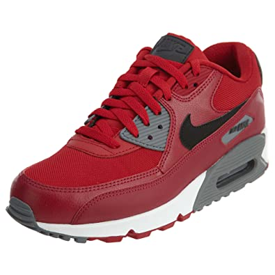 d239e5fe7e08 Nike - Chaussure - Air Max 90 Essential - Taille 39 - Rouge: Amazon ...