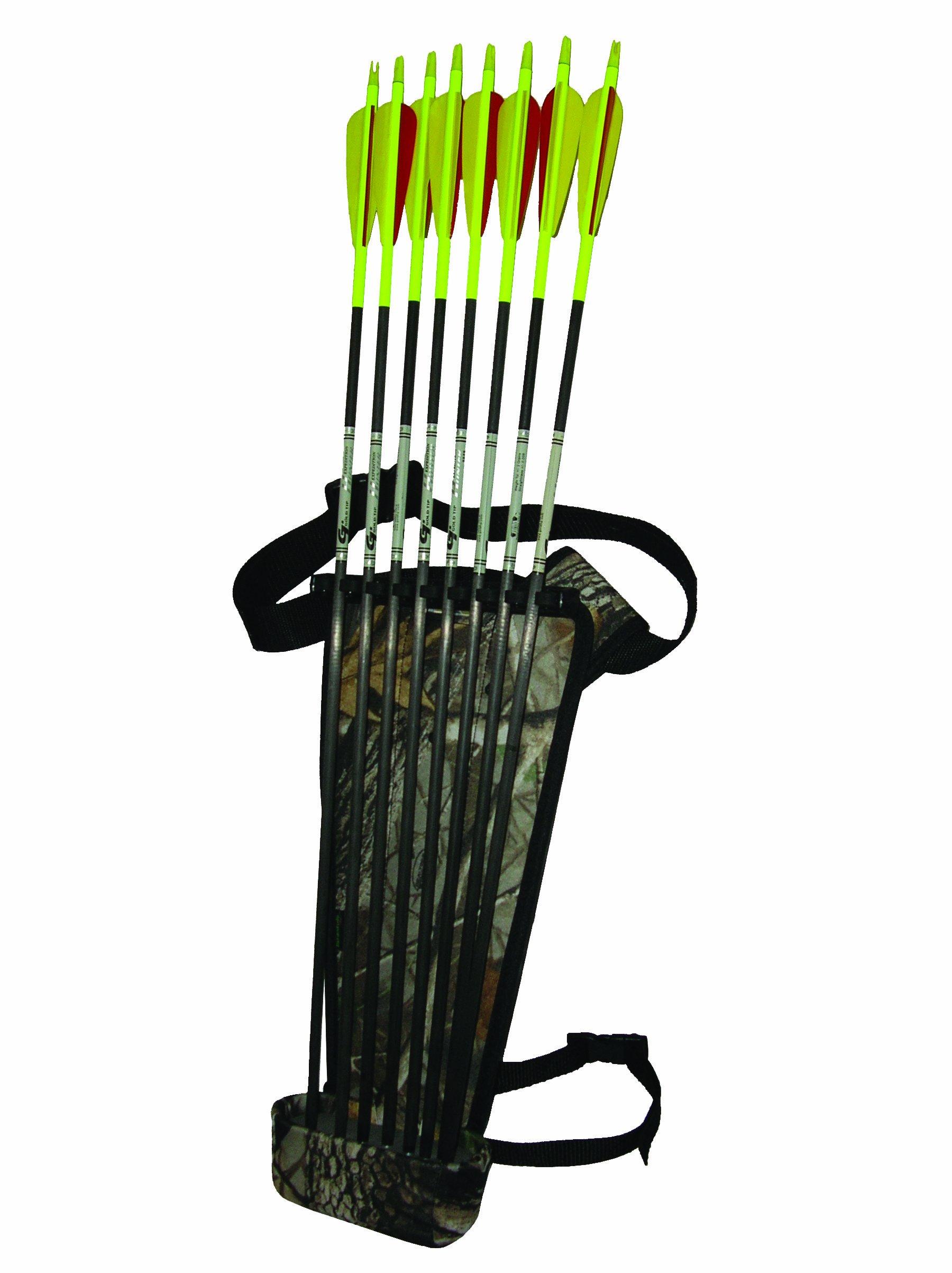 Sportsman's Outdoor Products Tarantula Broadhead Hip Quiver (Camo)