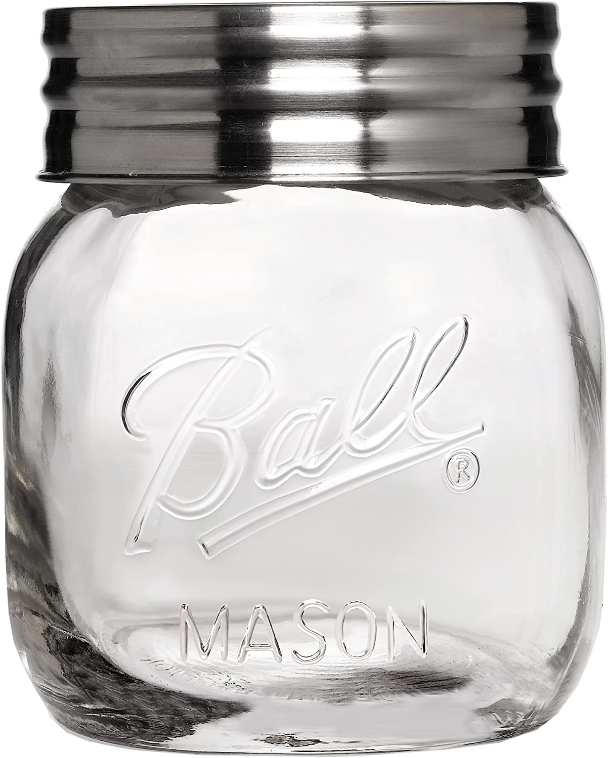 Ball (R) Wide Mouth Storage Jar-Half Gallon, Clear