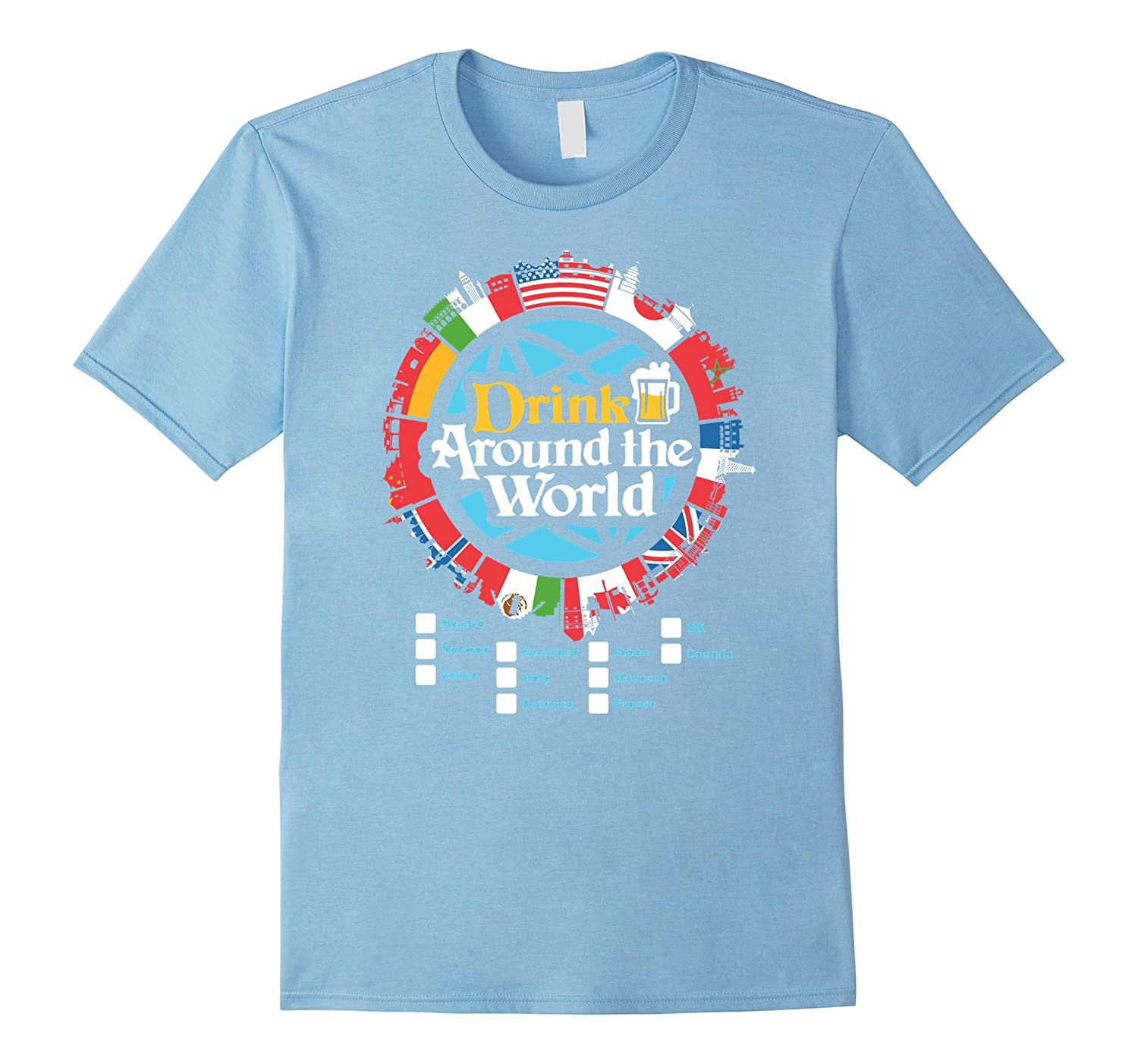 Adult Vacation Drinking T-Shirt-TH