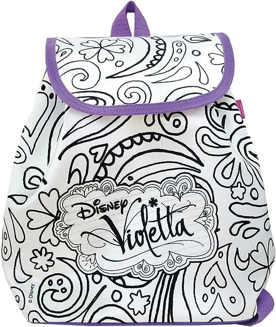 Smoby 86251 Color Me Mine Borsa per fine Settimana Fantasia: Violetta da colorare