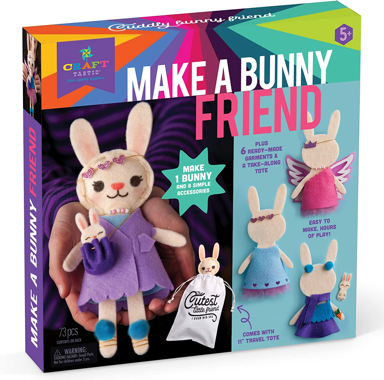 Make a Bunny Friend Craft Kit