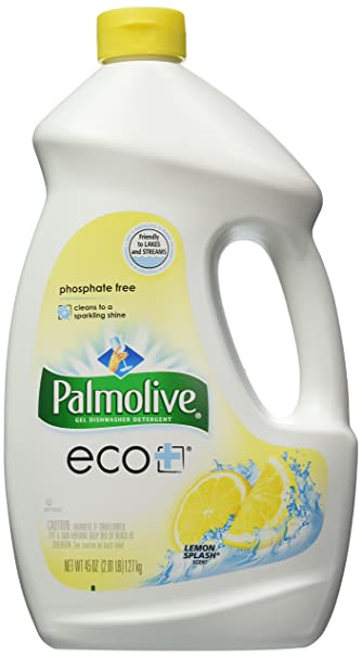 Amazoncom Palmolive Eco Dishwasher Detergent Lemon Splash 45
