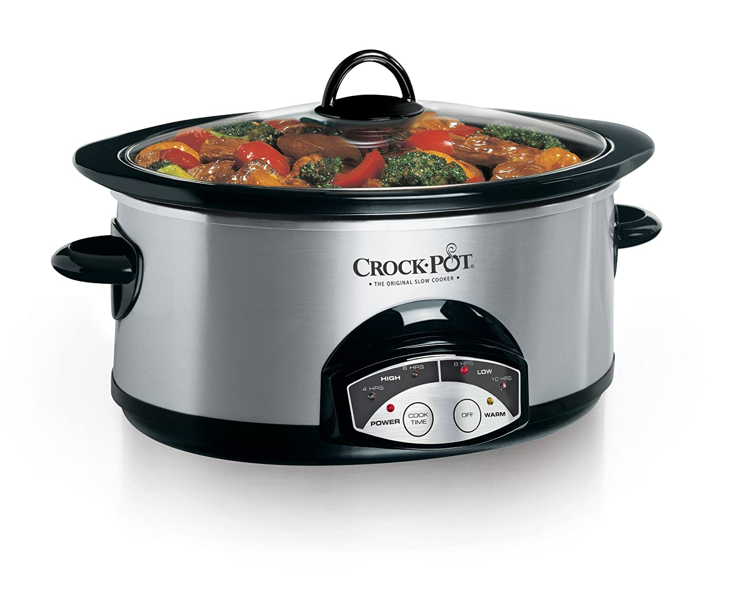 Crock-Pot 6Qt Programmable Slow Cooker, Stainless Steel SCVP600SS-033