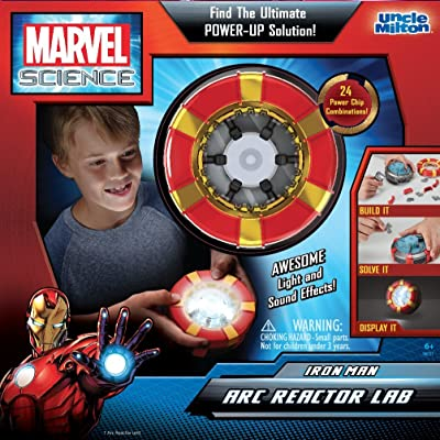 Uncle Milton - Marvel Science - Iron Man Arc Reactor Lab: Toys & Games