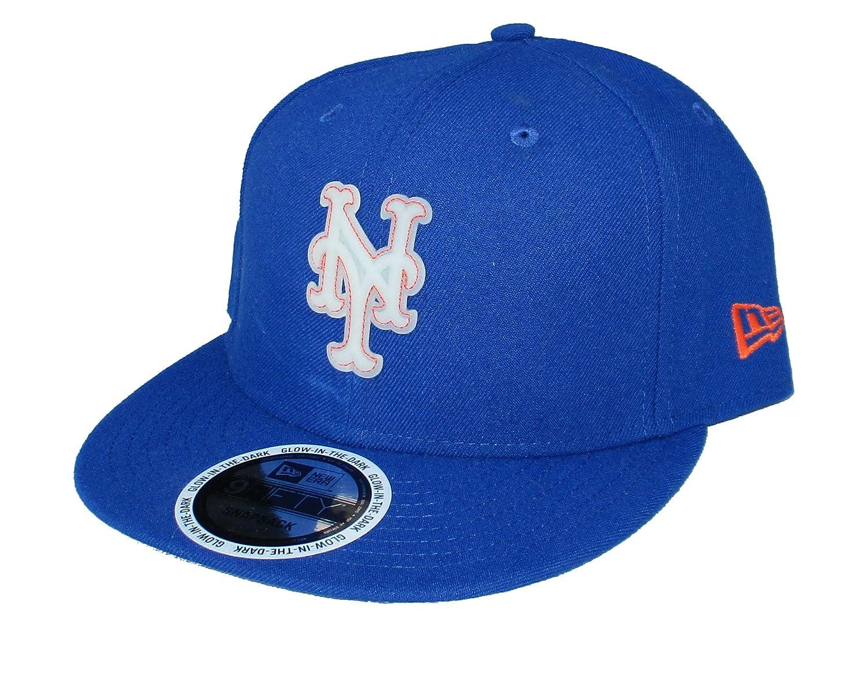 buy online fd77f fcd46 switzerland amazon new era cap company inc. new york mets snapback  adjustable glow in the