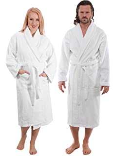 59e1354ba8 Classic Turkish Towels Luxury Terry Cloth Bathrobe - Premium Hotel Robes -  Made with 100%