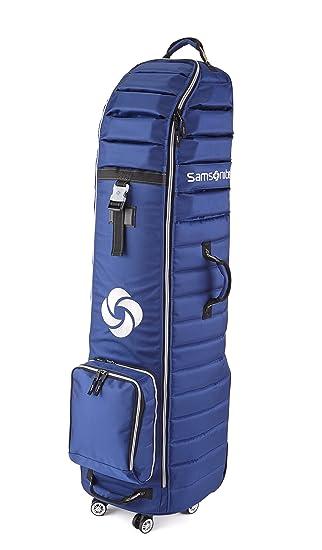 Amazon.com: Samsonite 7084 azul marino Spinner Wheeling Golf ...