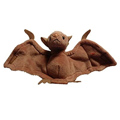 Batty the Bat (Brown Version Pink Nose) - Ty Beanie Babies: Toys & Games