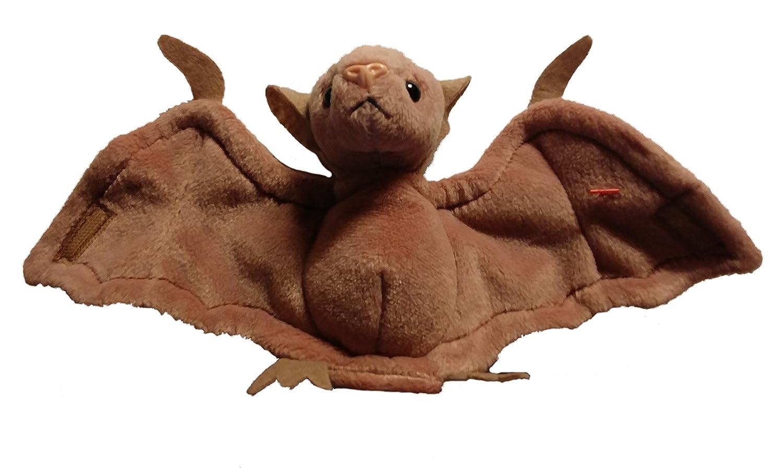 93ea896608e Amazon.com  Batty the Bat (Brown Version Pink Nose) - Ty Beanie Babies   Toys   Games