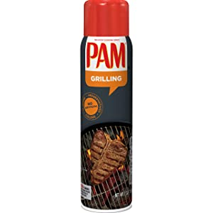 PAM Grilling No-Stick Cooking Spray, 7 oz (2)