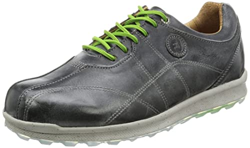 b0c2484b32c8e Foot Joy Versaluxe Casual Spikeless Golf Shoes 2016 Closeout Charcoal Grey  Wide 9