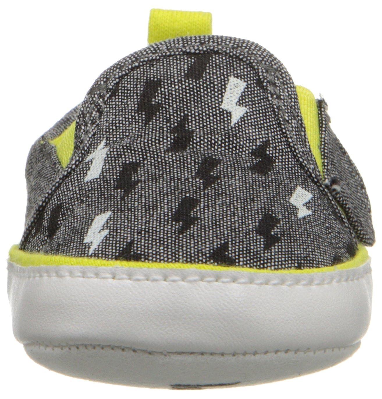 Infant Rosie Pope Kids Footwear Prewalker Bolt of Sunshine Crib Shoe