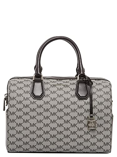 1f86113db8825e Michael Kors Mercer Medium Duffel (Black): Handbags: Amazon.com