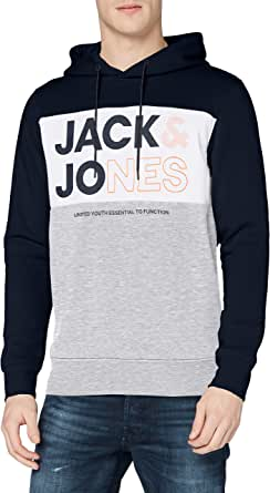 Jack & Jones Jjarid Sweat Hood Sudadera con Capucha para Hombre