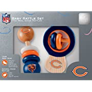 NFL Chicago Bears Baby Rattle Set - 2 Pack