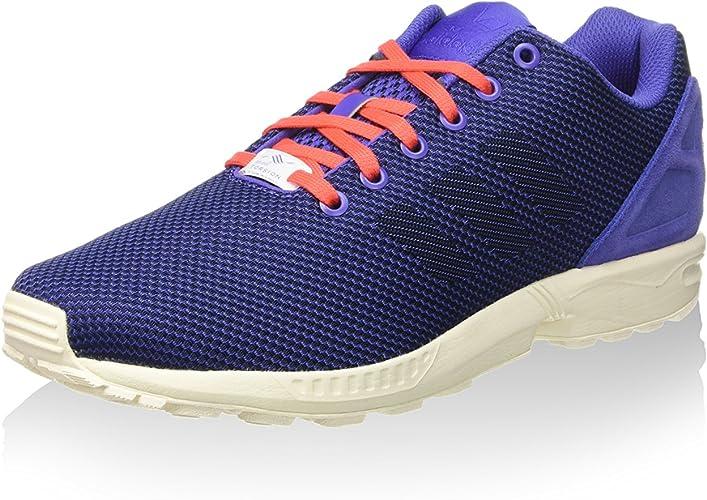 adidas Zapatillas ZX Flux Weave Azul EU 42 (UK 8): Amazon.es ...