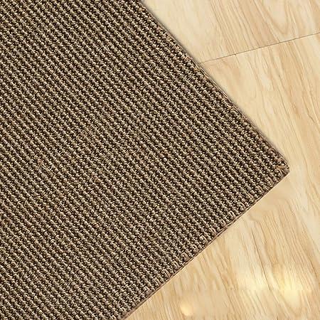 Amazon De Qiqizhang Teppich Handgenaht Sisal Teppich Wohnzimmer