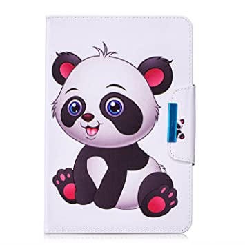 Uliking Universal Folio Case for 9-10.1 inch Tablet, PU Leather Stand Cover with Card Stylus Slots for 10