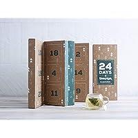 24 Days of TEAPIGS   Whole Leaf Tea Sampler from teapigs UK, 24 Flavours   Tea Tasting of Herbal Tea, Green Tea, Rooibos…