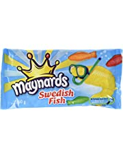 Maynards Maynards Swedish Fish Candy, 60 Grams (Pack of 18), 64 Grams