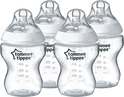 Tommee Tippee close to nature 4x 260ml Bottles Anti-colic Baby Bottle