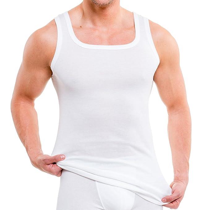 Hermko 93015 4 Pack - Camiseta interior de algodón ecológico: Amazon.es: Ropa y accesorios