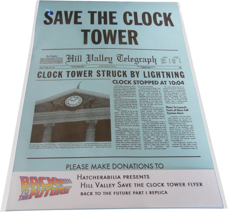 Amazon.com: Back To The Future Hill Valley Guardar la Torre ...