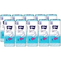 Bella Regular Softi Wings Classic Sanitary Pads - 8 Pieces (Pack of 10)