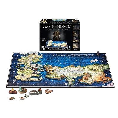 4D CITY SCAPE- RompecabezasPuzzles encajables y rompecabezas4D City SCAPEGame of Thrones Westeros and Essos, (1000): Juguetes y juegos