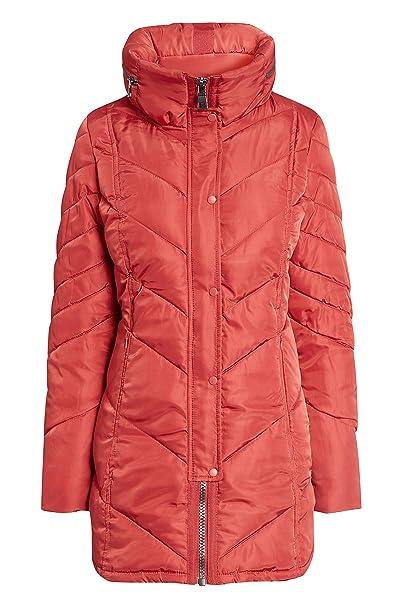 next Mujer Abrigo Acolchado Rojo EU 50 (UK 22)