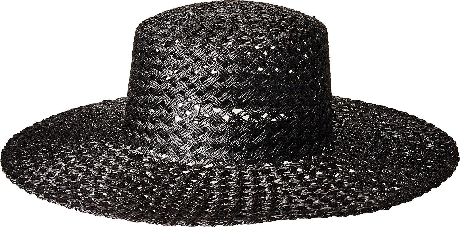 Lack of Color Women's Sunnydip Noir Hat (Black, SM (55cm)) by Lack of Color (Image #3)