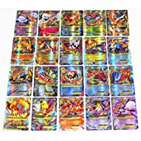 NEW Pokemon TCG EX 60pcs Large Mega EX Card Strongest Combination Best Gift