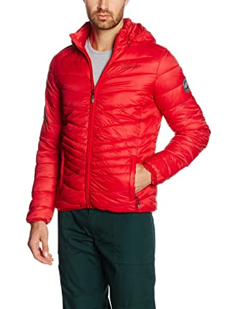 Chaplin Basic Collar A, Vestes Homme, Rouge, Taille MGeographical Norway