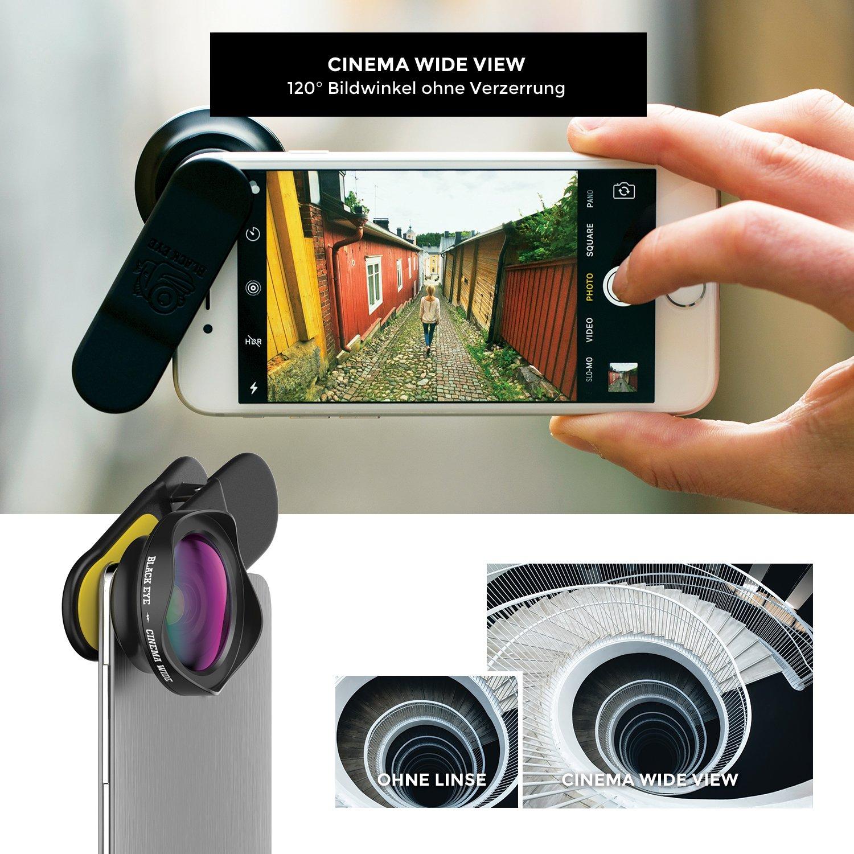 Black Eye Premium Smartphone Objektiv Pro Series - Full: Amazon.de ...