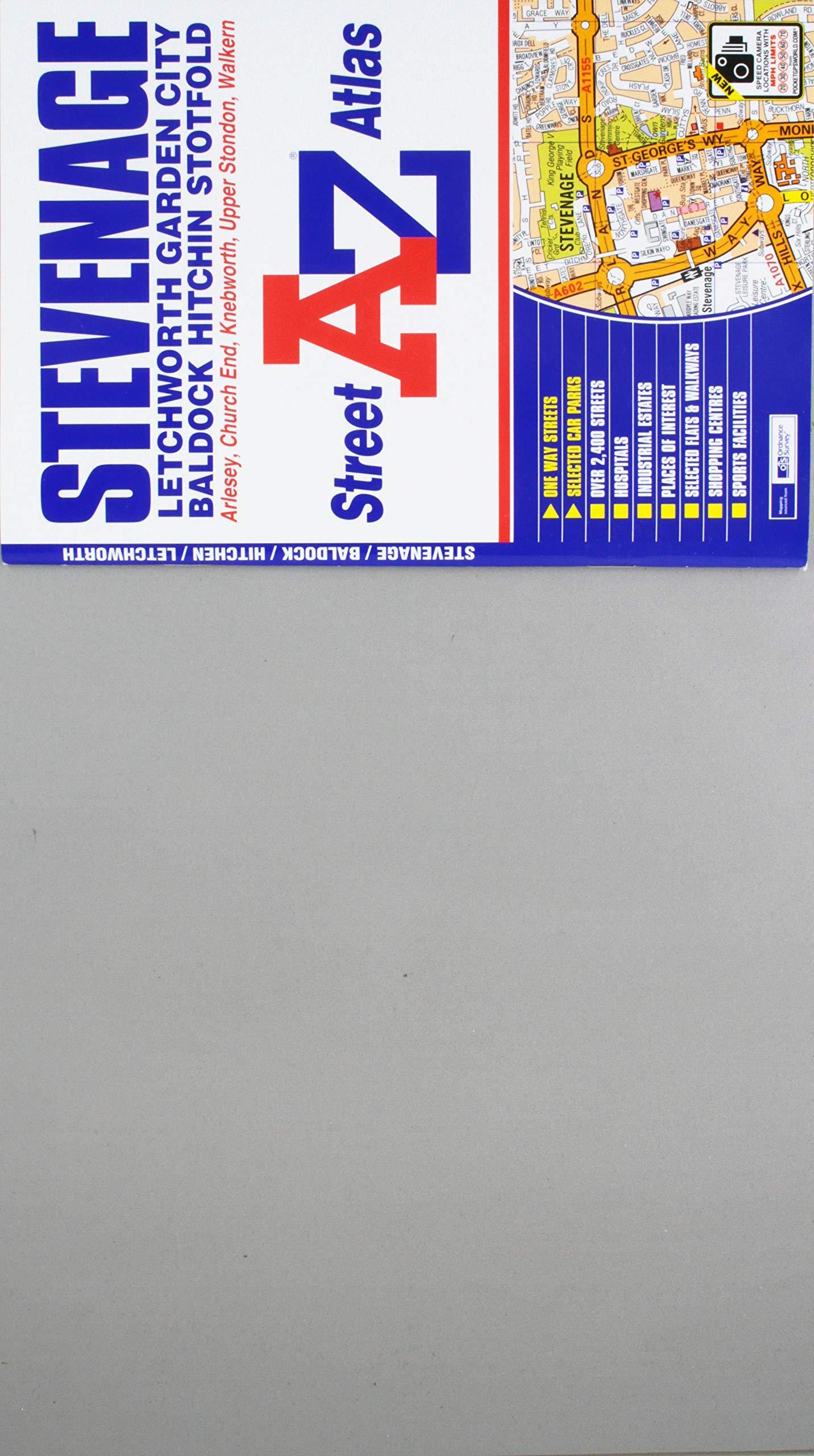 Download Stevenage Street Atlas (A-Z Street Atlas) PDF