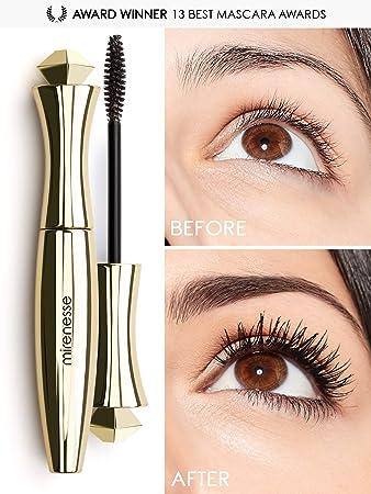 04a62464f1e Mirenesse Secret Weapon Original 24hr Mascara, Lengthens & Curls Lashes,  Microwrap Tubing Formula,